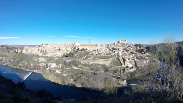 The view of Toledo, the city of 3 cultures.