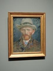 Self-Portrait of Van Gogh in Rijksmuseum