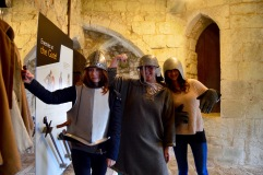 Take a look at these badass warriors sworn to defend the Carisbrooke castle!