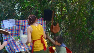 Along the hike, there was a woman selling freshly squeezed lemonade, but for €2 I decided to stick with my water.