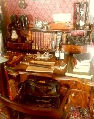 Watson's desk… it's truly inspiring.