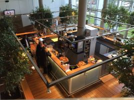 Cafeteria at Audencia, the place I get my coffee every morning!