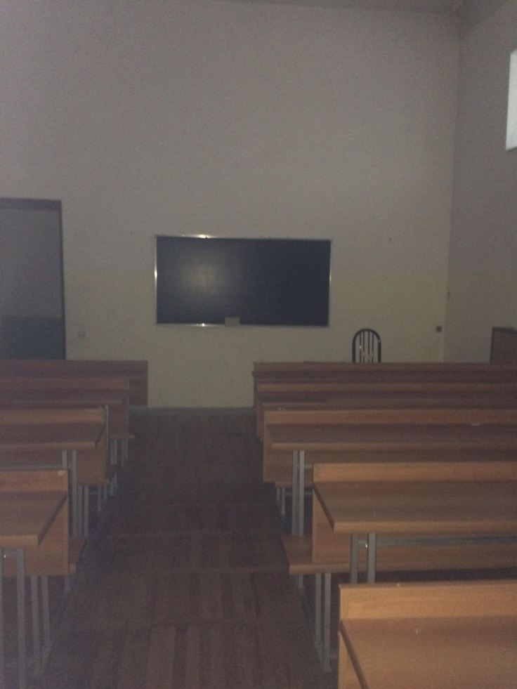 Typical classroom found at TSU.