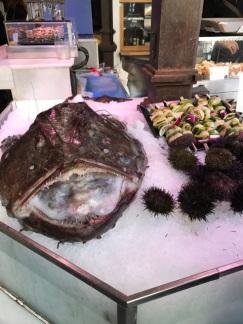 Scary fresh fish.